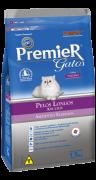 Ração Premier Gatos Adultos Ambientes Internos Pelos Longos Salmão
