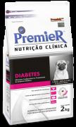 Ração Premier Nutrição Clínica Diabetes Cães Pequeno Porte - 2 kg