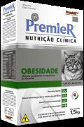 Ração Premier Nutrição Clínica Obesidade Gatos - 1,5kg