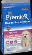 Ração Premier Poodle Cães Filhotes 1 kg