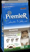 Ração Premier Seleção Natural Cães Filhotes Sabor Frango - 10,1 kg