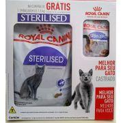 Ração Royal Canin Sterilised - Gatos Castrados - KIT