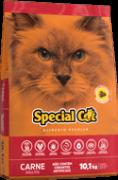 Ração Special Cat Carne Adultos 10,1kg