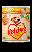 Ração Úmida Keldog Frango com Ervilha e Cenoura - 280g
