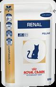 Sachê Royal Canin Renal Feline - 85 gramas