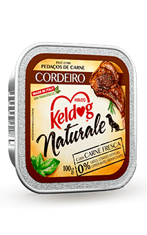 Alimento Úmido Keldog Naturale Cordeiro - 100g