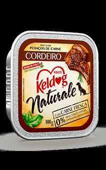 Ração Úmida Keldog Naturale Cordeiro - 100g