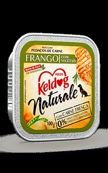 Alimento Úmido Keldog Naturale Frango com Vegetais - 100g