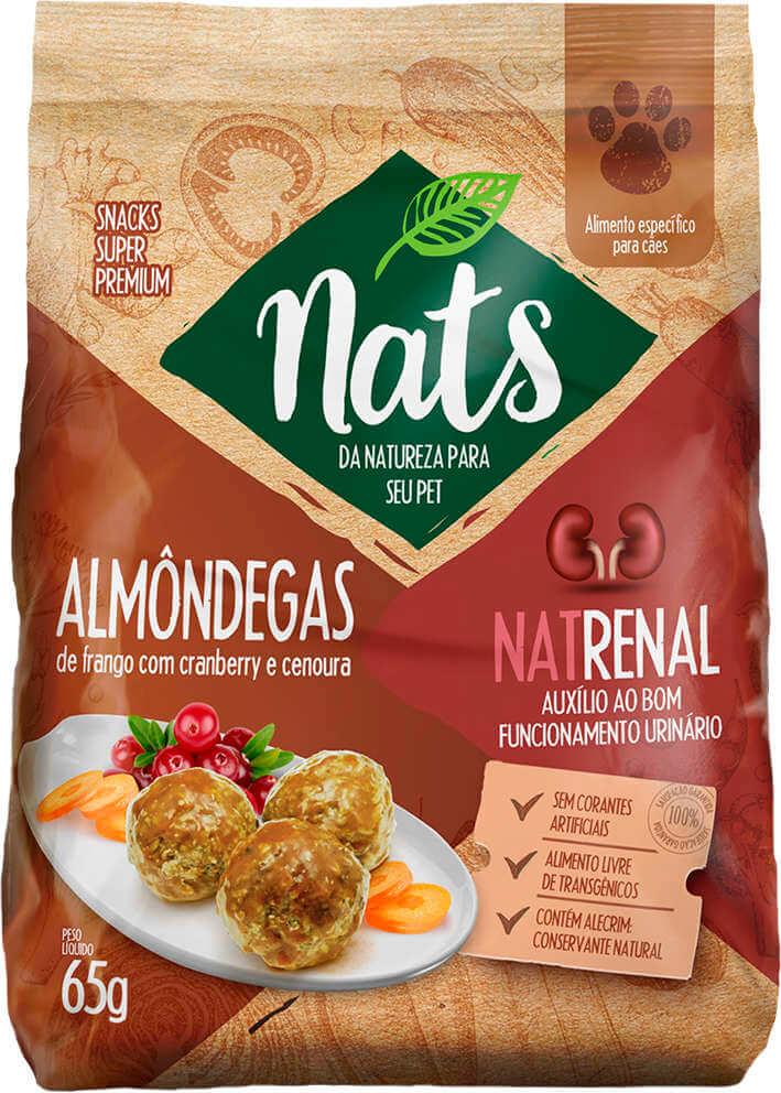Almôndegas Nats NatRenal - 65g
