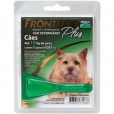 Antipulgas Frontline Plus Cães até 10Kg