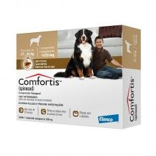 Antipulgas para cães - Comfortis 1620mg - Cães 27 à 54Kg