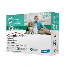 Antipulgas para cães e gatos - Comfortis 560mg - Cães 9 à 18Kg Gatos 5,4 à 11Kg