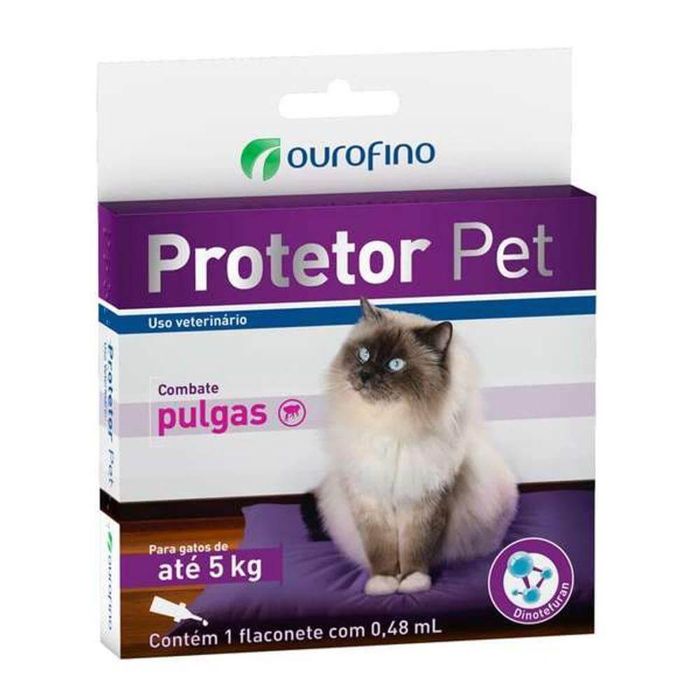 Antipulgas Protetor Pet - Gatos até 5kg
