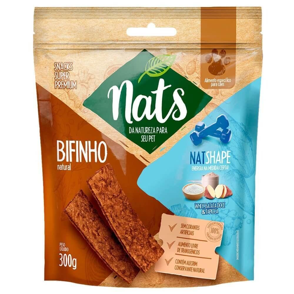 Bifinho Natural Nats NatShape - 300 gramas