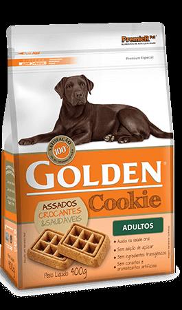 Biscoito Golden Cookie Cães Adultos - 400 gramas