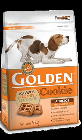 Biscoito Golden Cookie Cães Adultos Pequeno Porte - 400 gramas