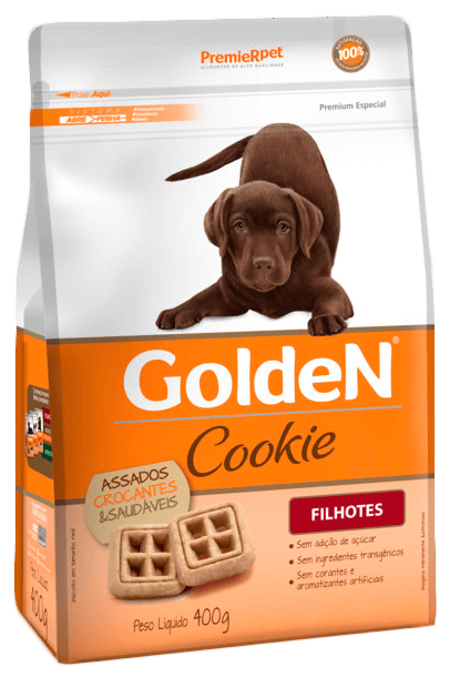 Biscoito Golden Cookie Cães Filhotes - 400 g