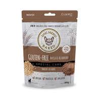 Biscoito Luopet Gluten-Free - Aveia e Alfarroba - 150 gramas