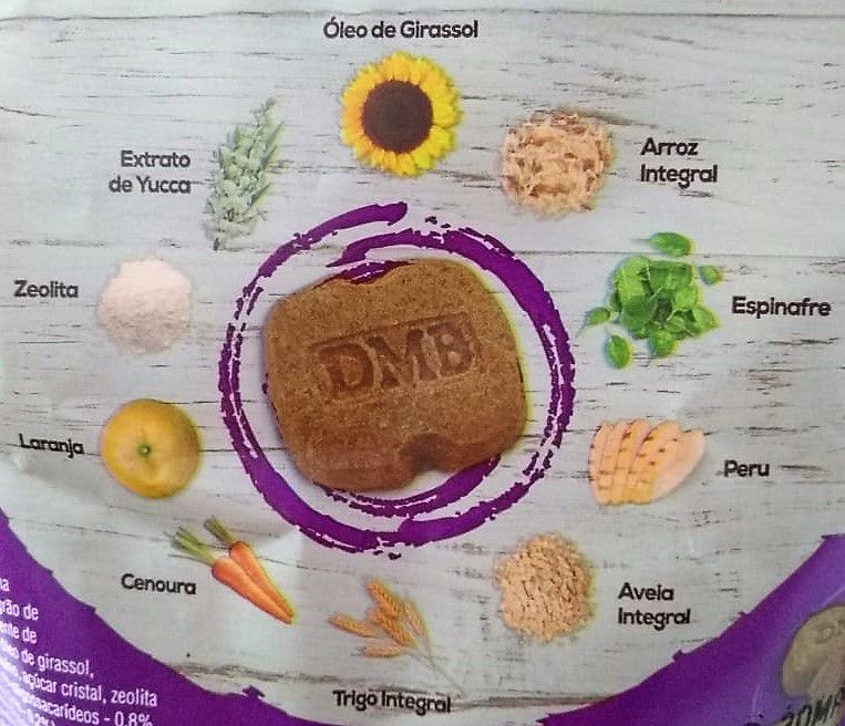 Biscoito Luopet Mini Indoor - Yucca e Zeolita - Raças Pequenas - 120 gramas