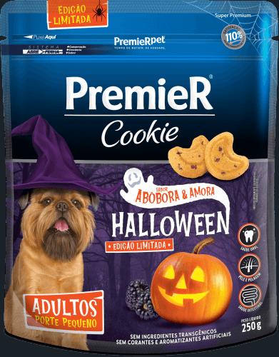 Biscoito Premier Cães Adultos Pequeno Porte - Abóbora e Amora - 250 g