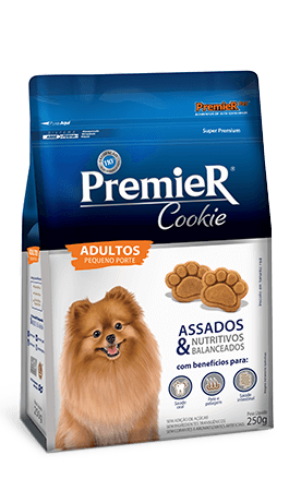 Biscoito Premier Cookie Cães Adultos Pequeno Porte - 250 gramas