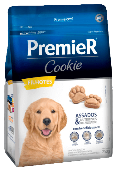 Biscoito Premier Cookie Cães Filhotes - 250 gramas