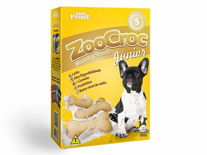 Biscoito Zoocroc Júnior Crocante Raças Pequenas 300g