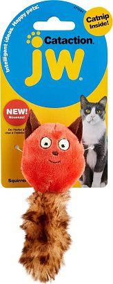 Brinquedo Esquilo com Catnip JW - Gatos