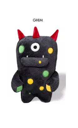 Brinquedo para cães Alien Flex Ghim