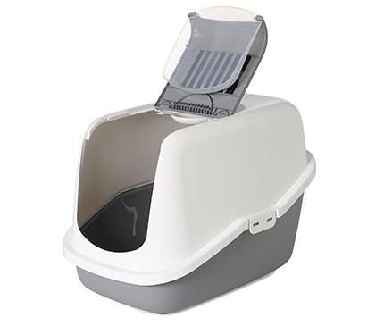 Caixa fechada para higiene gatos Savic - modelo Nestor - (escolha cor)