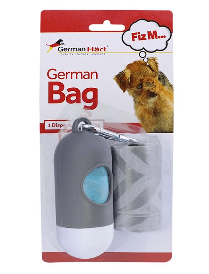 Cata caca German Bag - 1 Dispenser + 2 Rolos