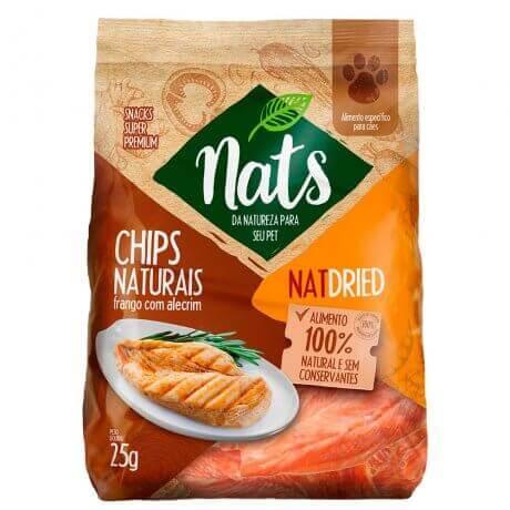 Chips Naturais Nats NatDried (Frango com Alecrim) - 25g