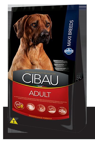 Ração Cibau Adult Maxi Breeds para cães adultos de porte grande 15kg