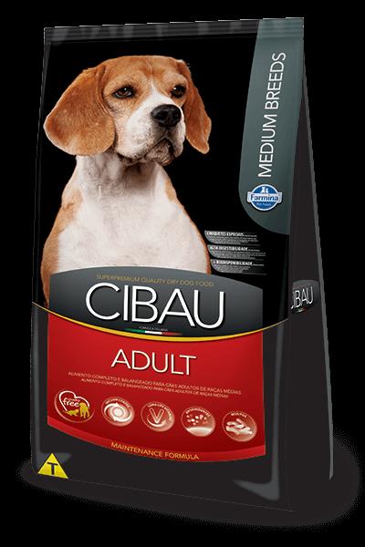Ração Cibau Adult Medium Breeds para cães adultos de porte médio - 15kg