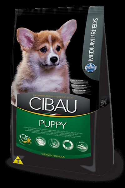 Ração Cibau Puppy Medium Breeds para cães filhotes de porte médio - 15kg