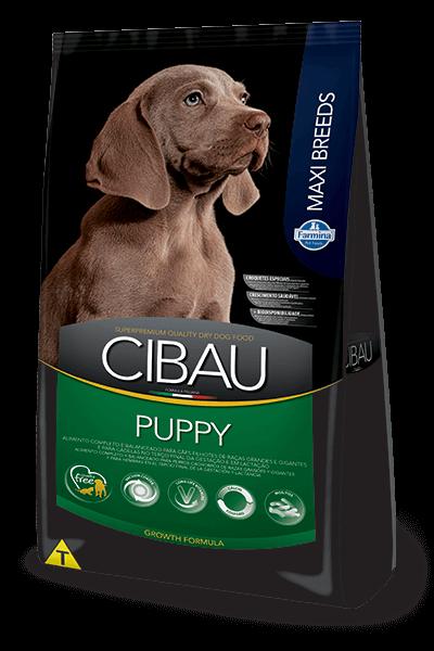 Ração Cibau Puppy Maxi Breeds para cães filhotes de porte grande - 15kg