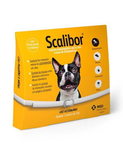 Coleira Antiparasitária Scalibor - Cães