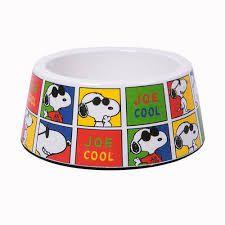 Comedouro melamina cães - Snoopy Joe Cool
