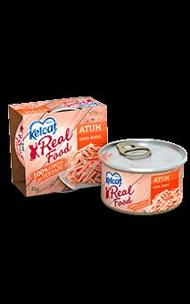 Ração Úmida Gatos Kelcat Real Food Atum com Kani - 85g