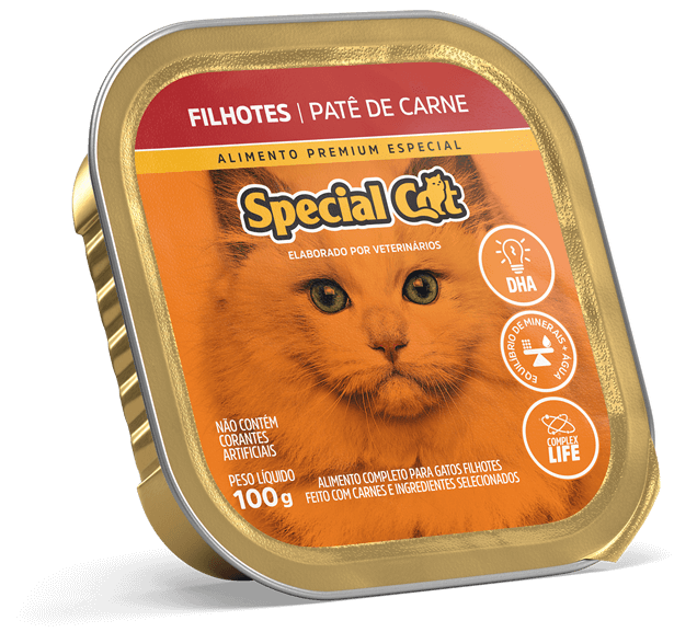 Kit Patês Special Cat - Gatos Filhotes