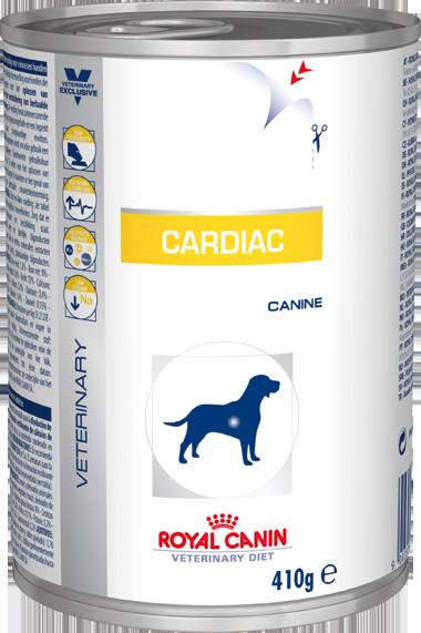Lata Royal Canin Cardiac Canine - 410 g