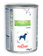 Royal Canin Diabetic Special Low Carbohydrate - Alimento úmido - Lata 410 gr