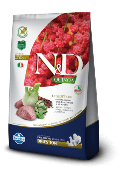 Natural & Delicious Quinoa Digestion Cordeiro - Adult