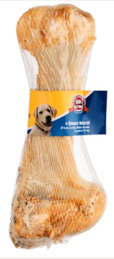 Osso bovino - Úmero Natural Defumado - ChurrasCão