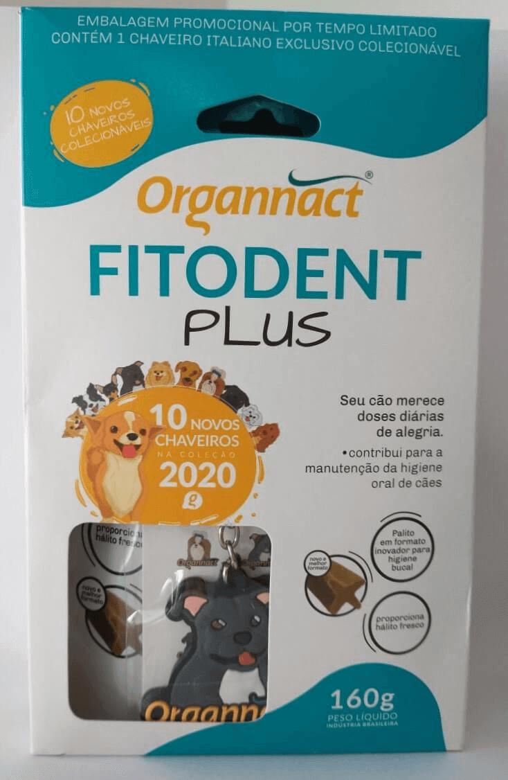 Palito Fitodent Plus Organnact para cães de todos os portes - 160 g