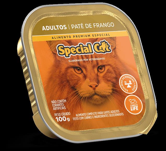 Patê Special Cat Adultos Sabor Frango - 100g