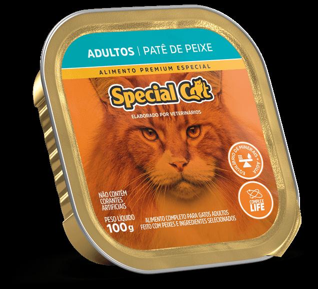 Patê Special Cat Adultos Sabor Peixe - 100g