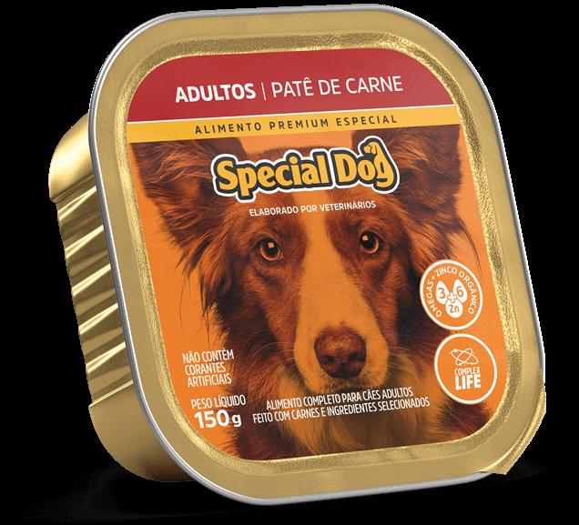 Patê Special Dog Adultos Sabor Carne - 150g