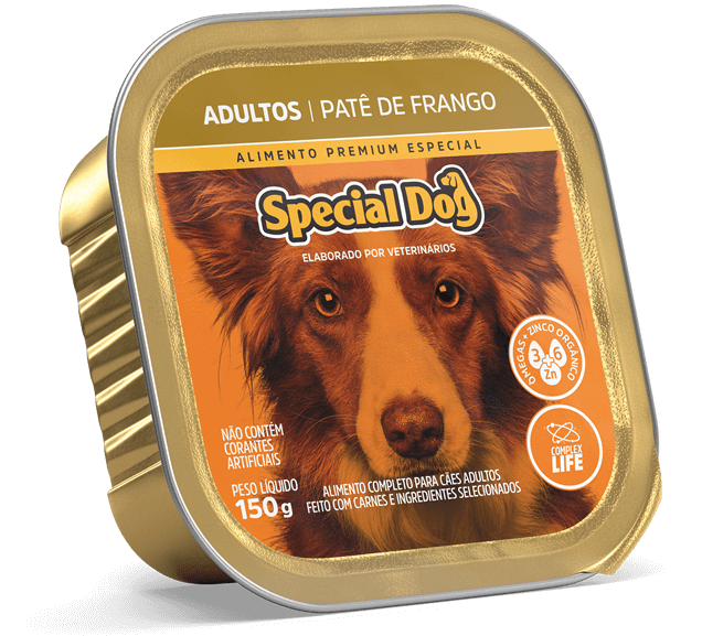 Patê Special Dog Adultos Sabor Frango - 150g