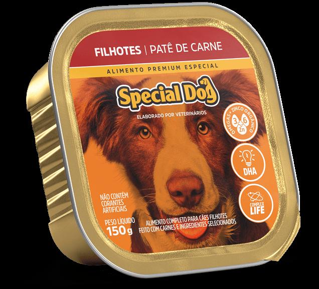 Patê Special Dog Filhotes Sabor Carne - 150g